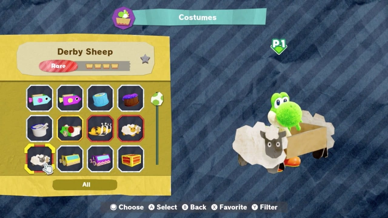 Yoshi's Crafted World – Ondersteunde amiibo
