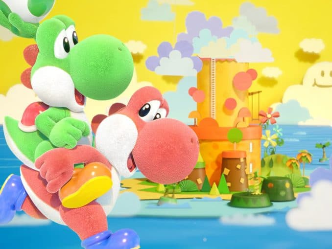 Nieuws - Yoshi's Crafted World – Mario & Luigi: Superstar Saga Easter Egg