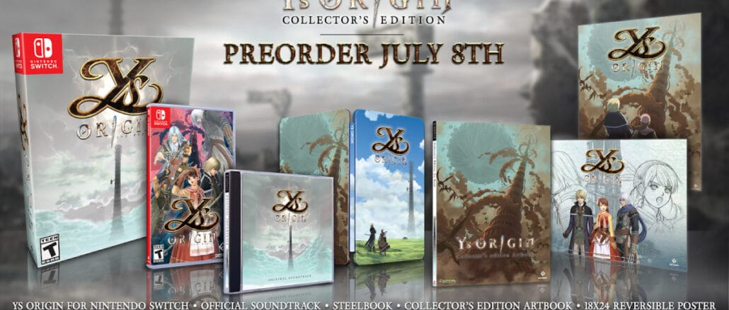 Ys Origin fysieke Collector's Edition onthuld