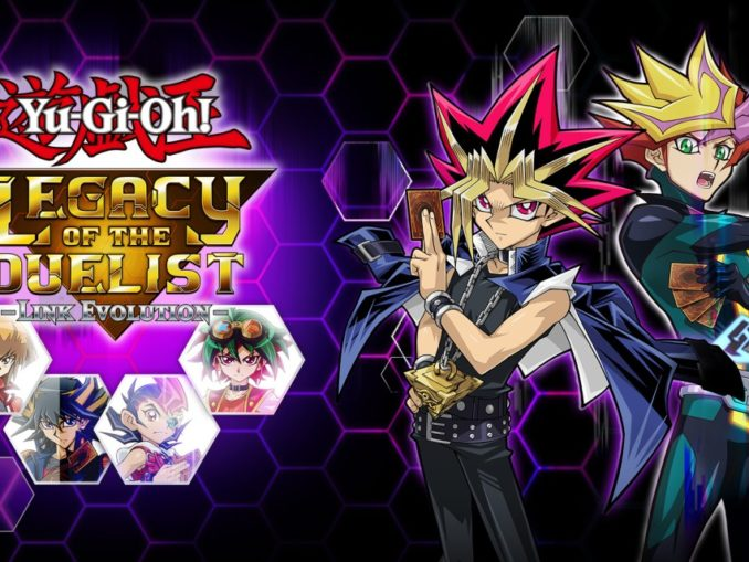 Release - Yu-Gi-Oh! Legacy of the Duelist: Link Evolution!