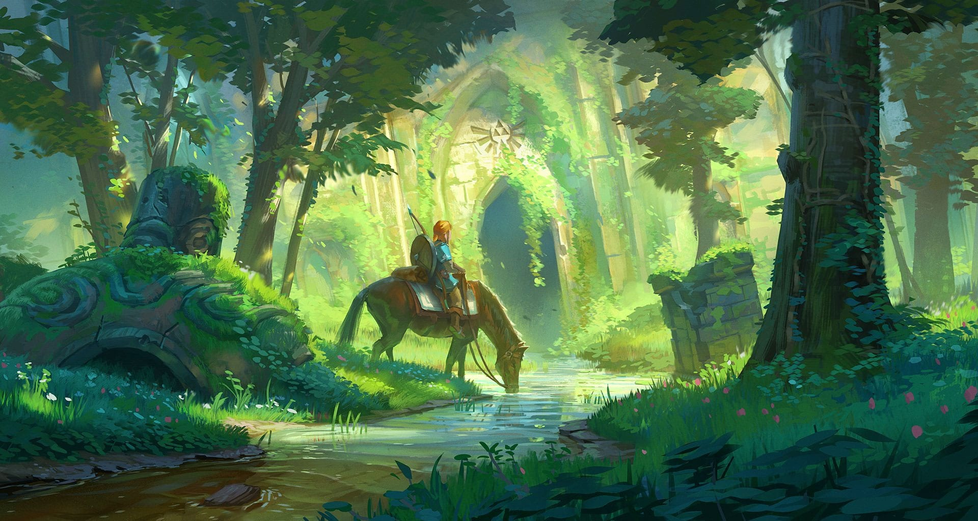 zelda breath of the wild added to official zelda timeline general