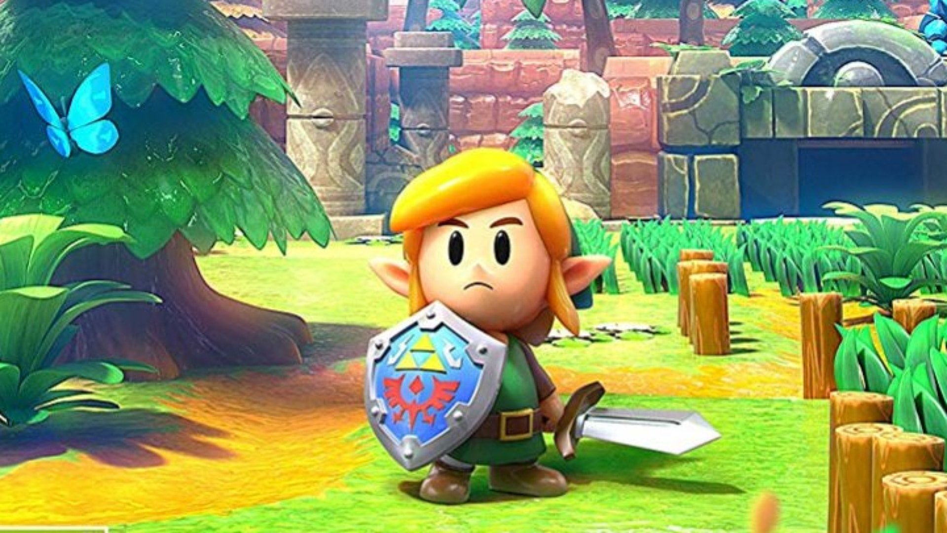 Zelda: Link's Awakening – Shy Guy & Boo Gameplay footage