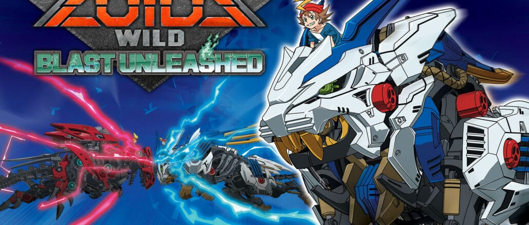Zoids Wild: Blasts Unleashed – Gameplay Trailer