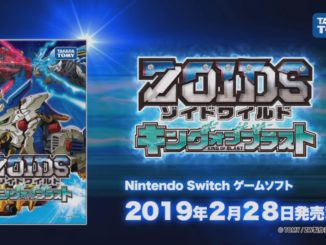Zoids Wild: King Of Blast Promo Trailer