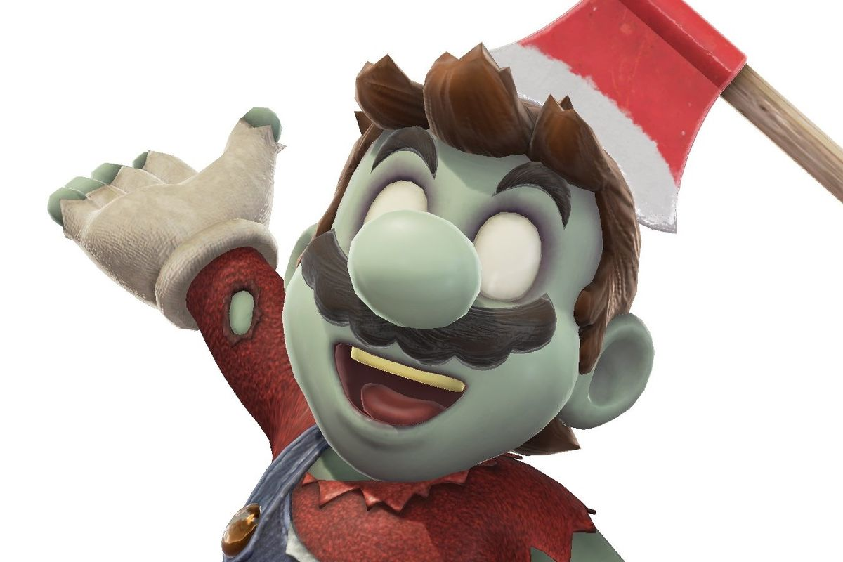 Zombie outfit available in Super Mario Odyssey